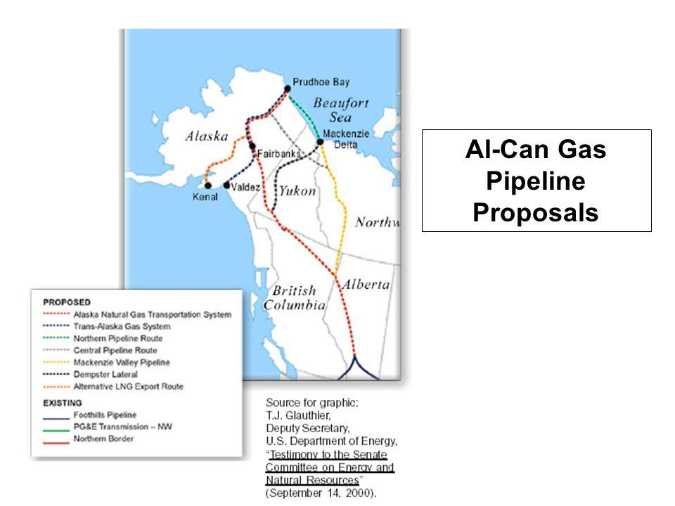 Al-Can Gas Pipeline Proposals