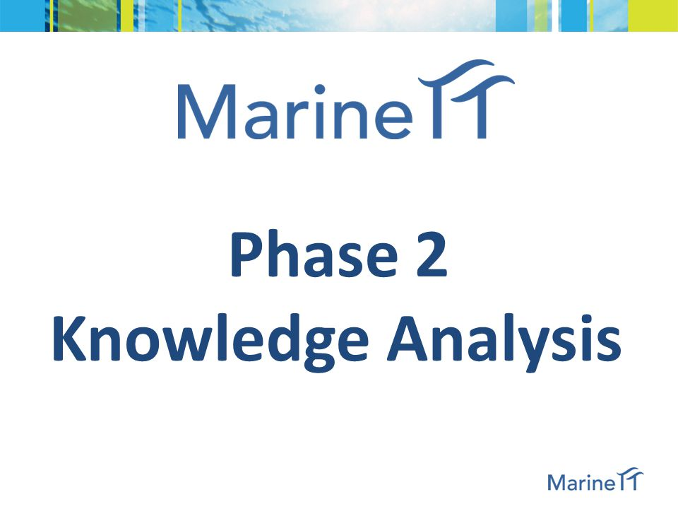 Identification & Collection of marine projects & KOs: FP7 figures
