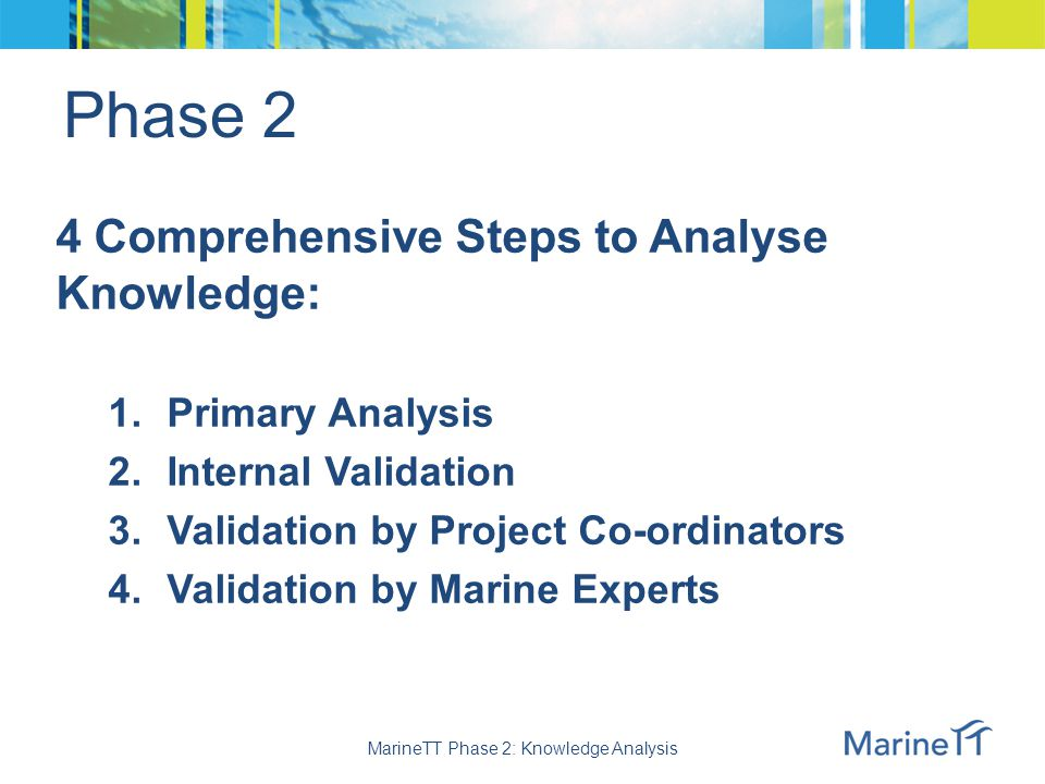 Phase 2 Knowledge Analysis 16