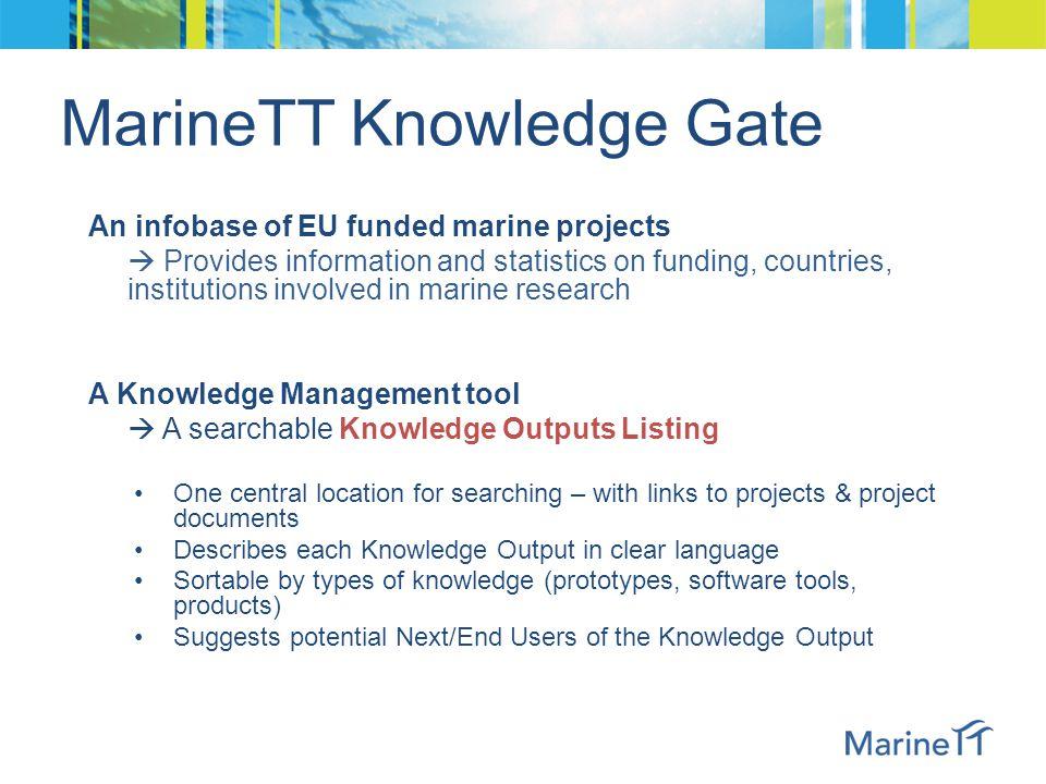 MarineTT Knowledge Gate