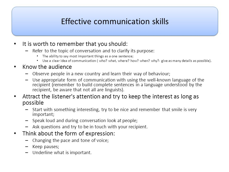 effective communication 12 essay Read more: identify different reasons why people communicate essay 31 identify barriers to effective communication there maybe barriers to communication by the client not being able to talk or medication effecting speech or tiredness.