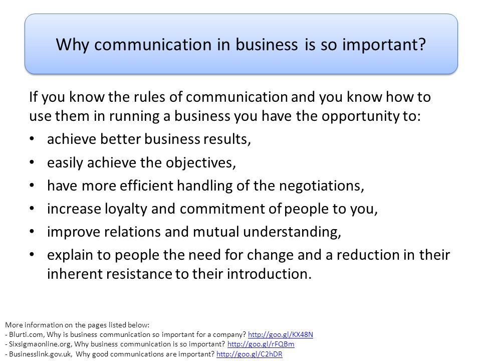 Why communication in business is so important