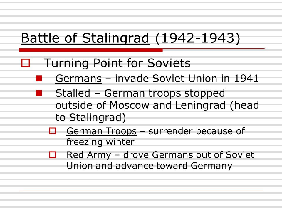 Battle of Stalingrad ( )