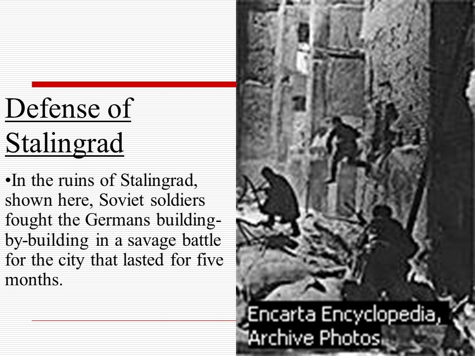 Defense of Stalingrad