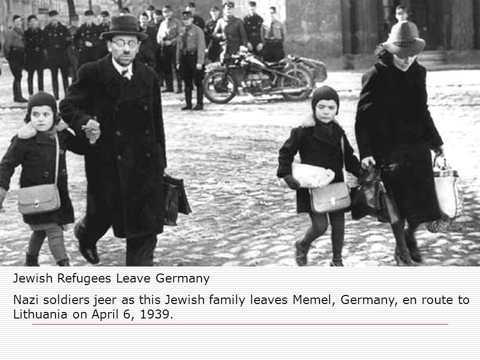 Jewish Refugees Leave Germany