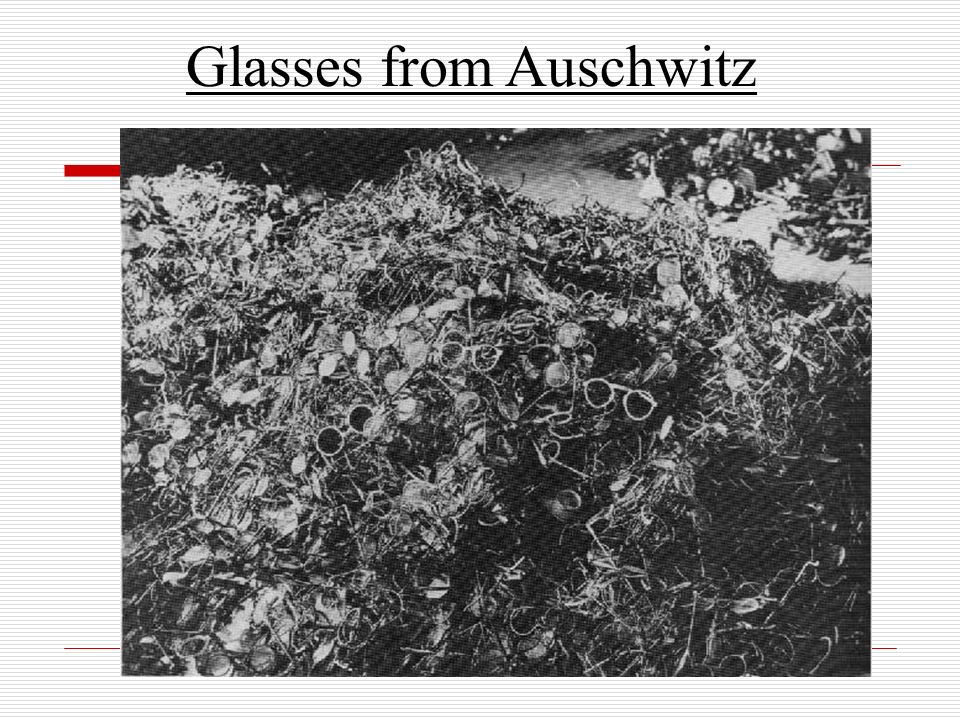 Glasses from Auschwitz