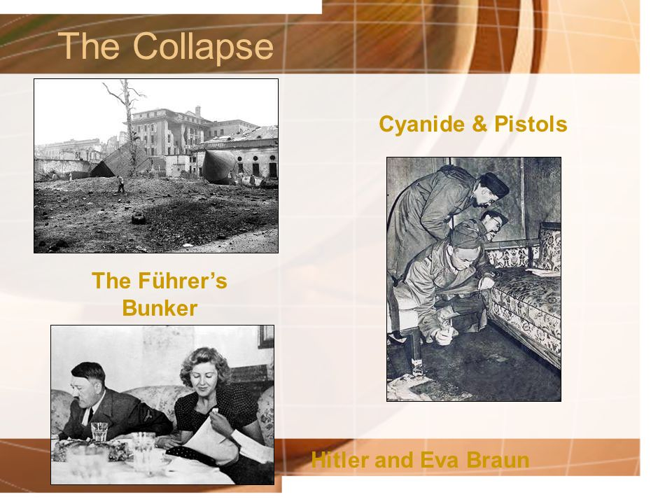The Collapse Cyanide & Pistols The Führer's Bunker