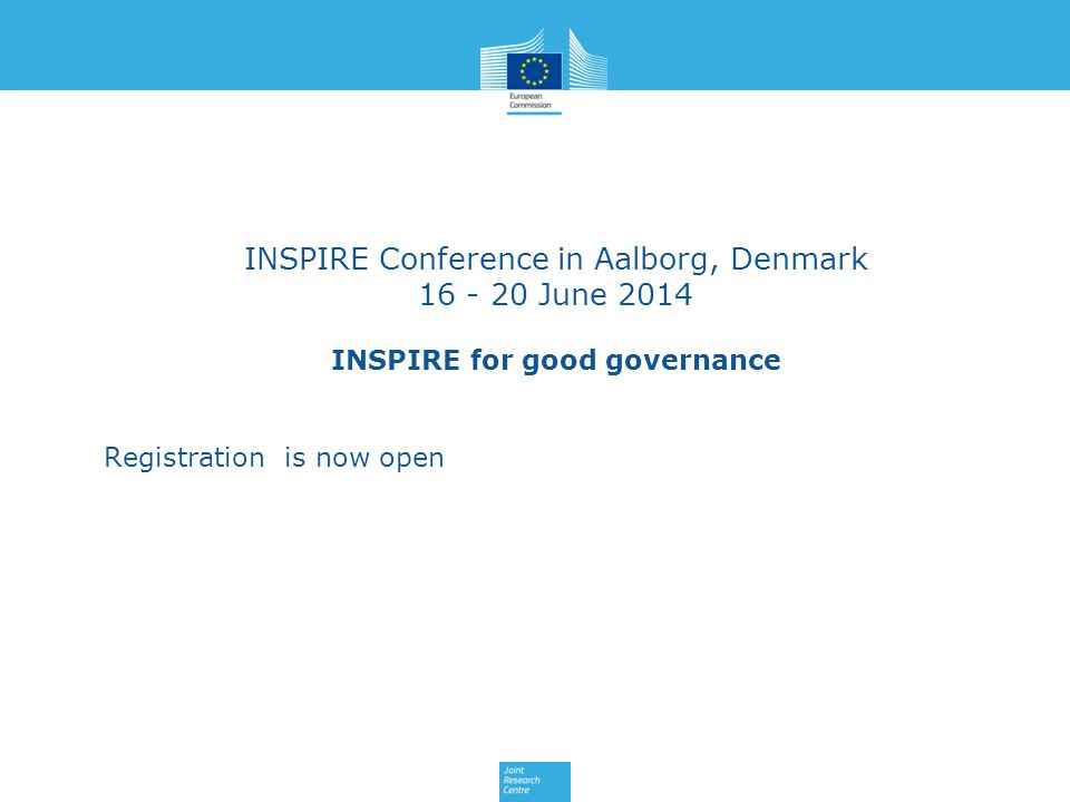 INSPIRE for good governance