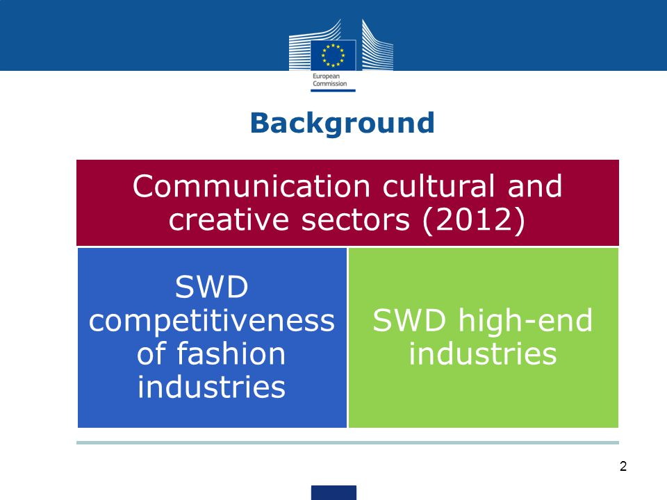 Communication cultural and creative sectors (2012)