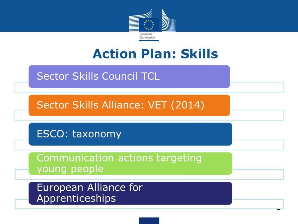 Action Plan: Skills Sector Skills Council TCL