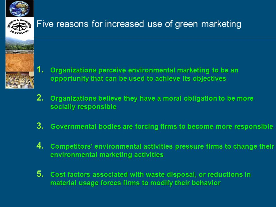 Source: Polonsky, 1994; American Marketing Association, 2008