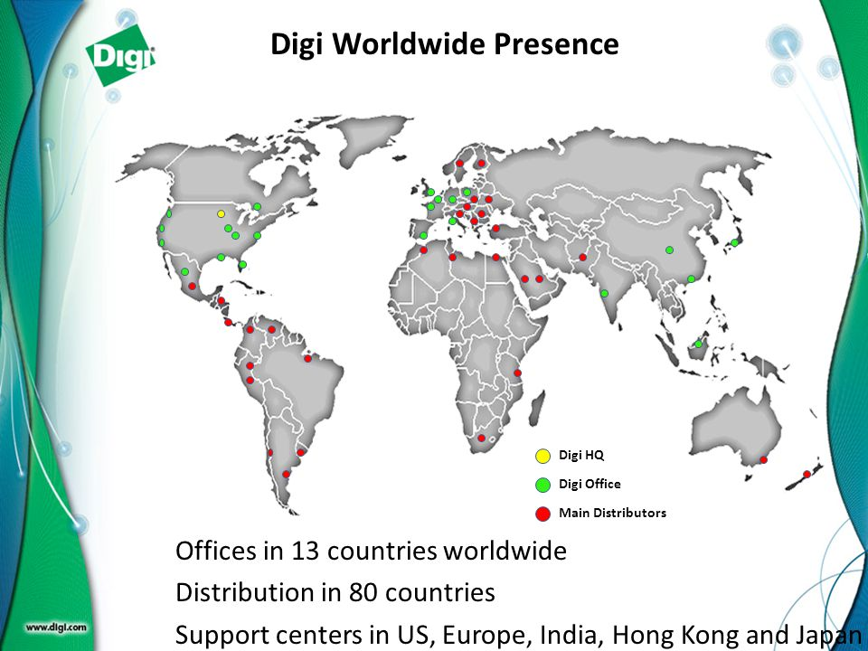 Digi Worldwide Presence