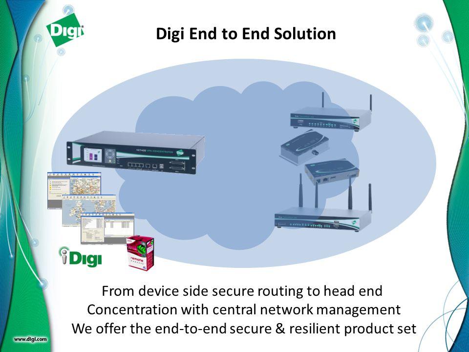 Digi End to End Solution