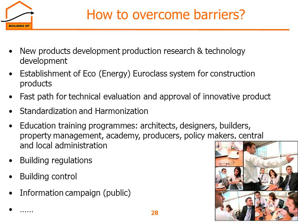 How to overcome barriers