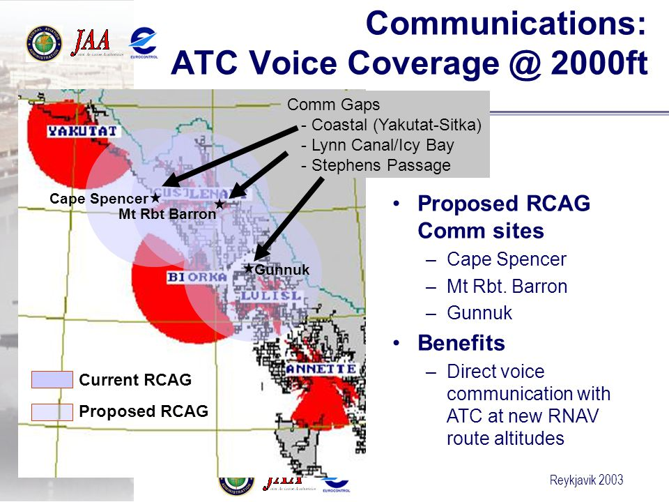 Communications: ATC Voice Coverage @ 2000ft