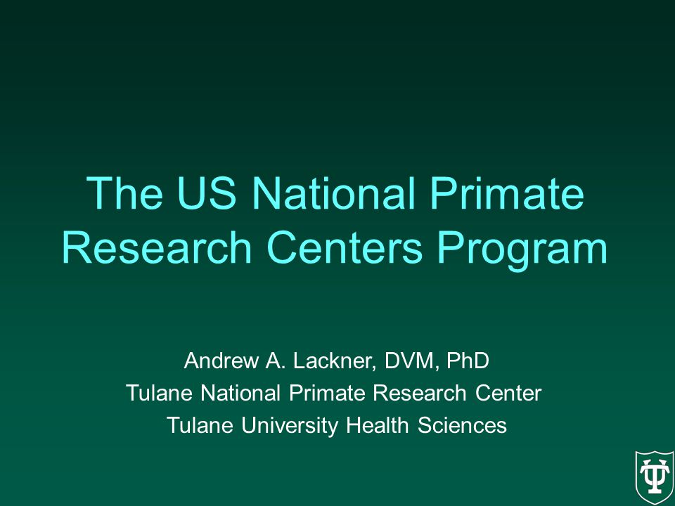 The US National Primate Research Centers Program