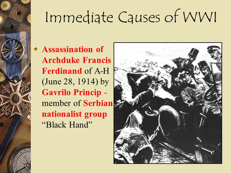 an analysis of the assassination of francis ferdinand background Beginning with the assassination of archduke franz ferdinand the debate on the origins of world war one at the heart of the debate on the origins of the.