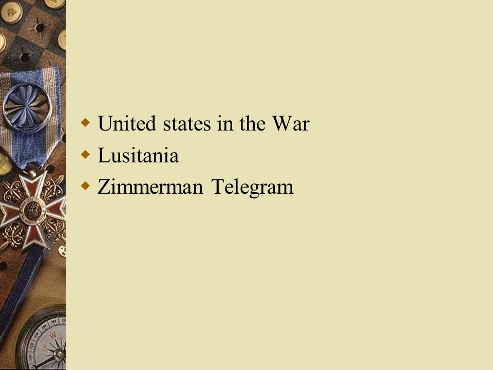 United states in the War