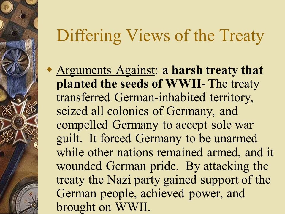 Differing Views of the Treaty