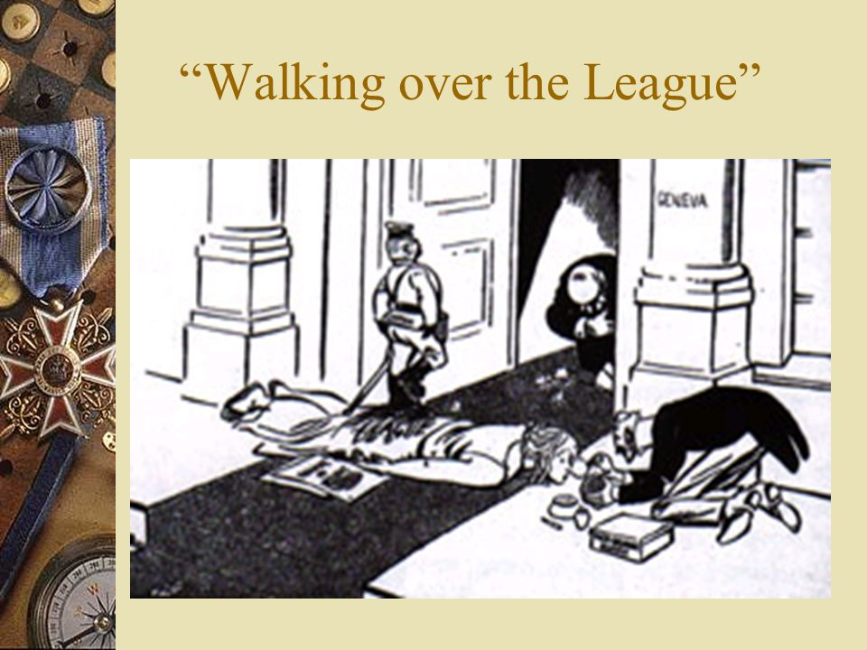 Walking over the League