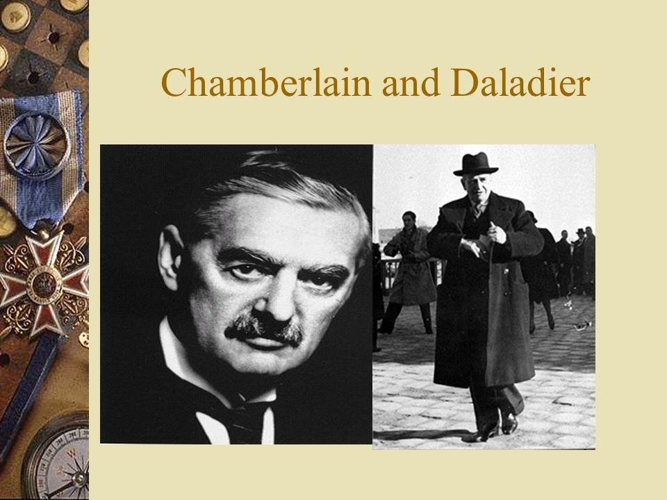 Chamberlain and Daladier