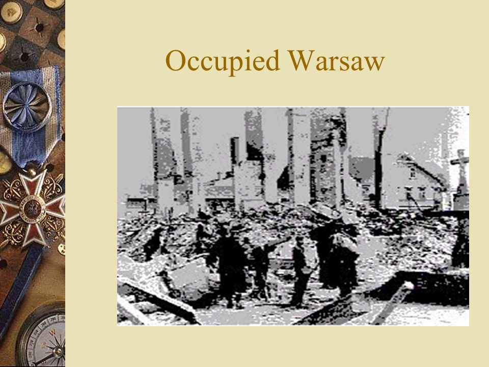 Occupied Warsaw