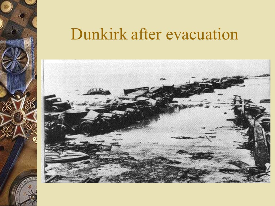 Dunkirk after evacuation