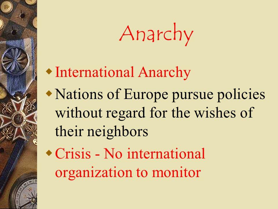 Anarchy International Anarchy