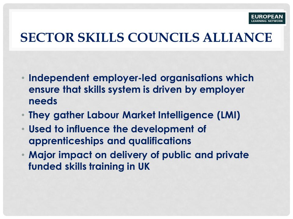 Sector Skills Councils Alliance