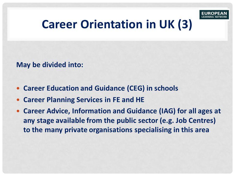 Career Orientation in UK (3)