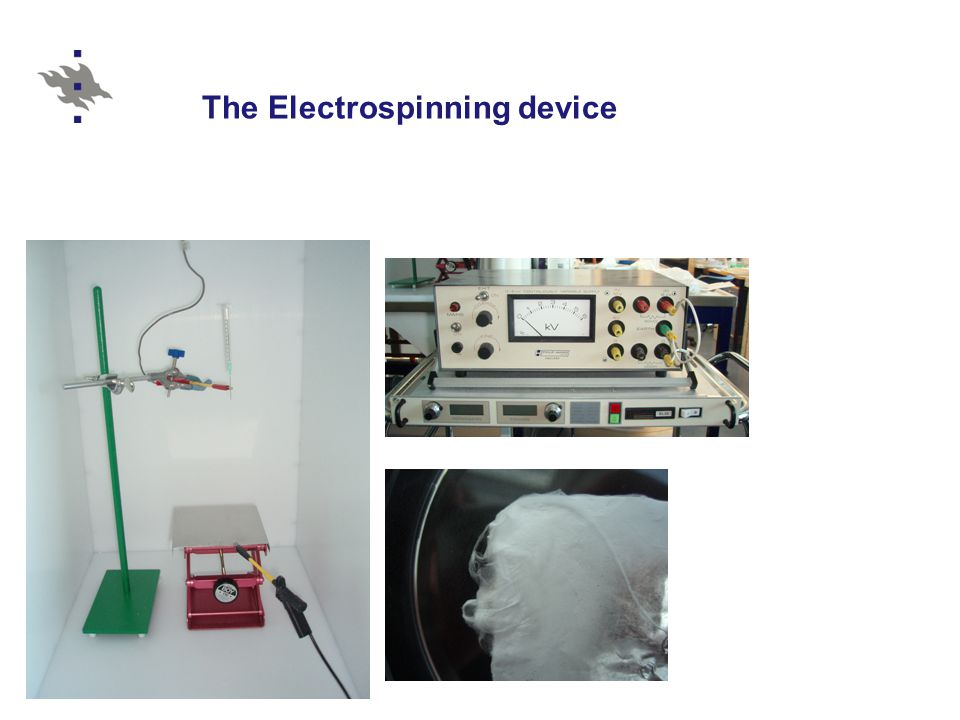 The Electrospinning device