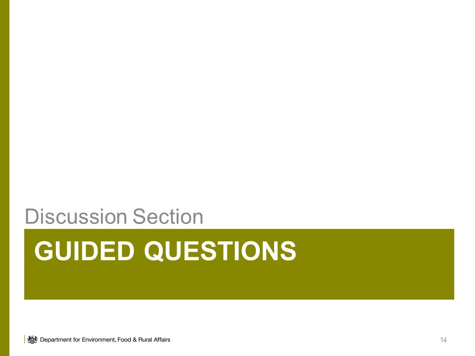 Discussion Section Guided Questions