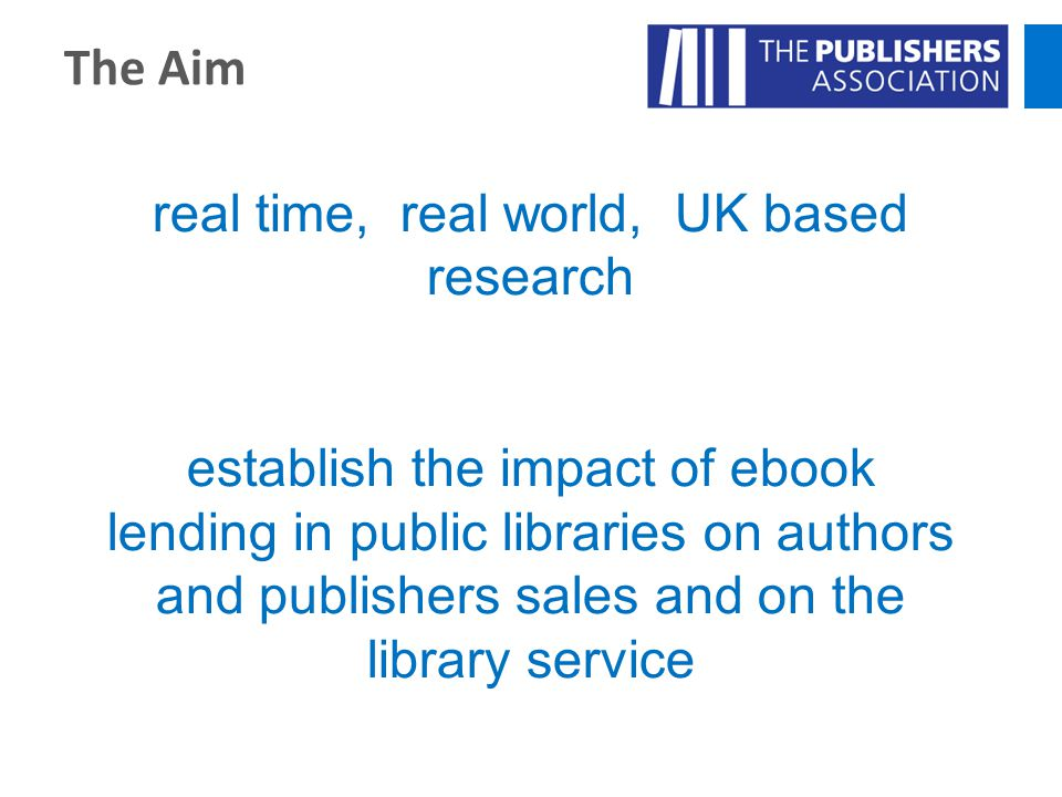 real time, real world, UK based research