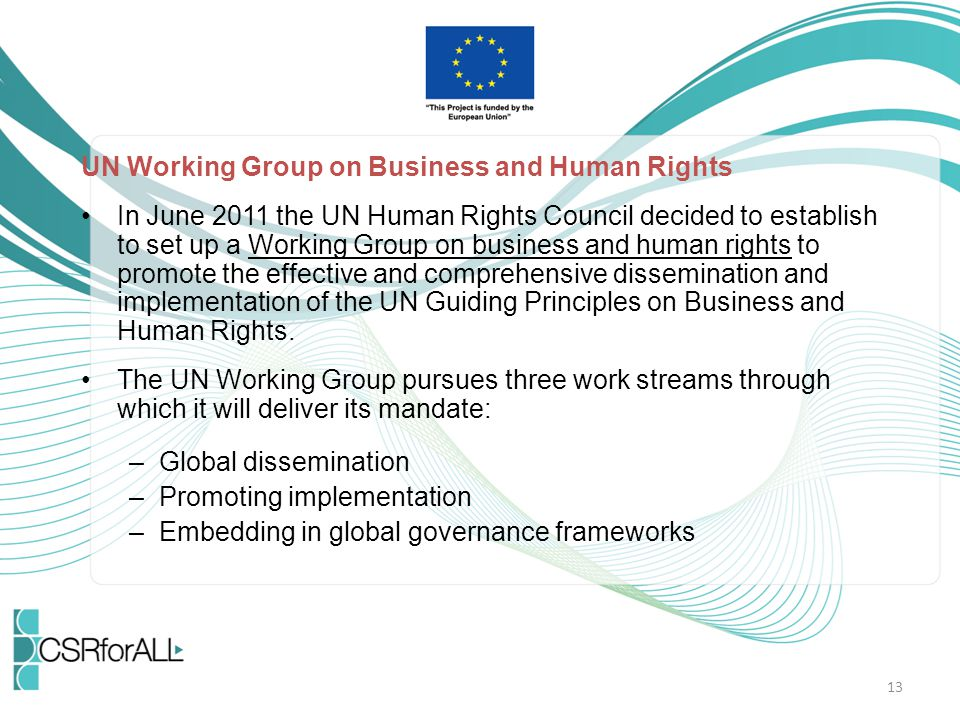 UN Working Group on Business and Human Rights