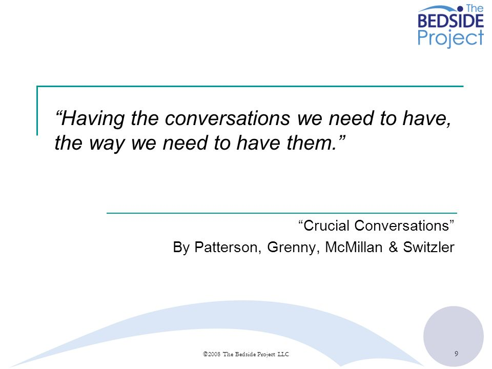 Crucial Conversations By Patterson, Grenny, McMillan & Switzler