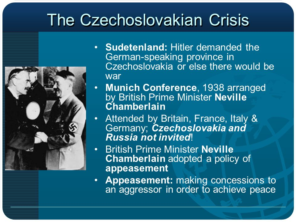 The Czechoslovakian Crisis