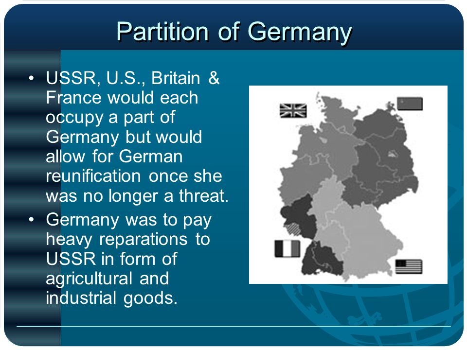 Partition of Germany