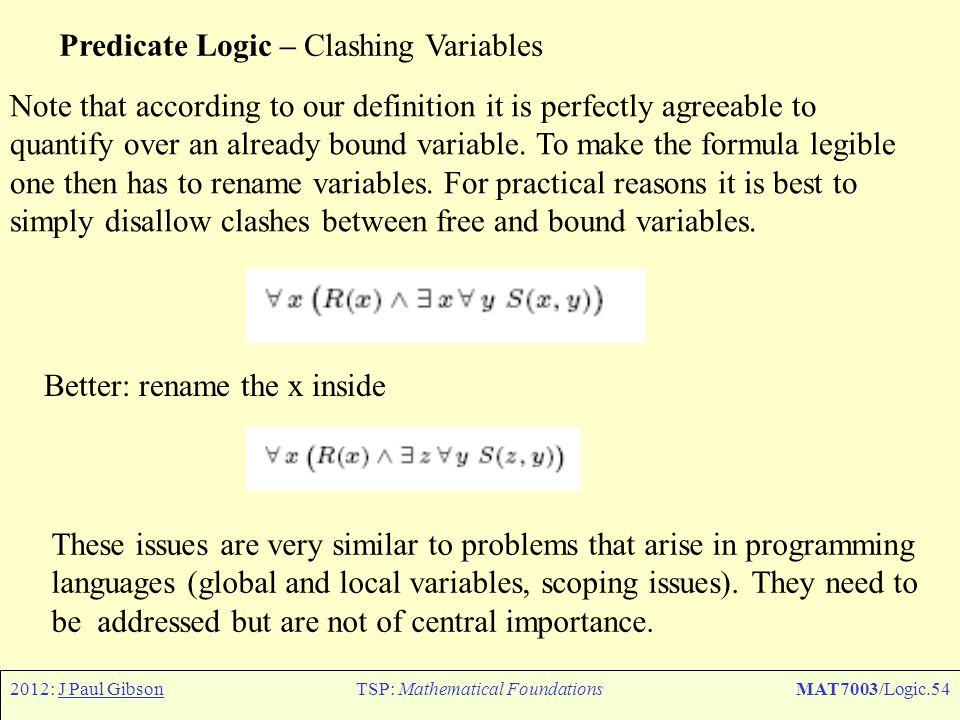 TSP: Mathematical Foundations