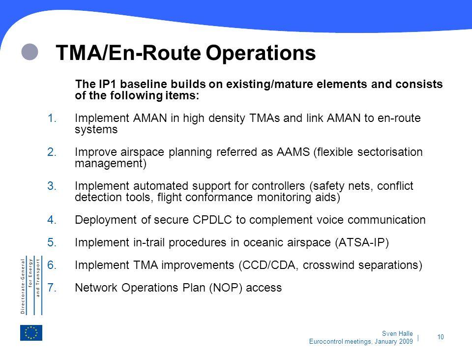 TMA/En-Route Operations