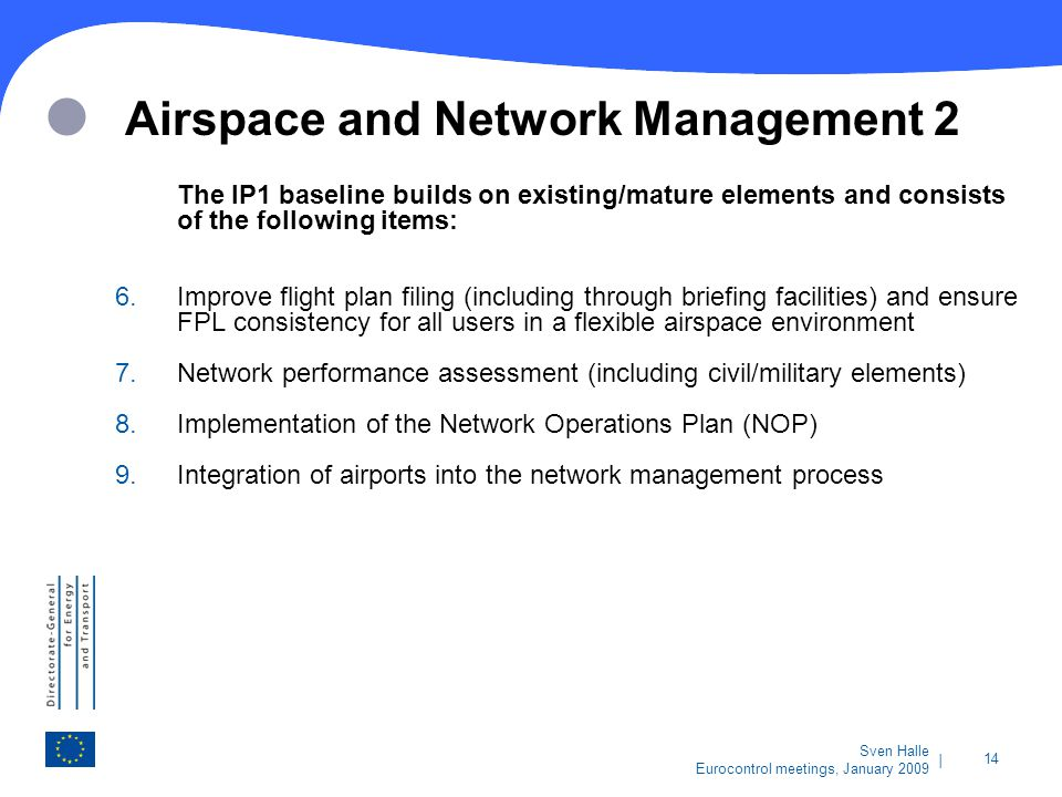 Airspace and Network Management 2
