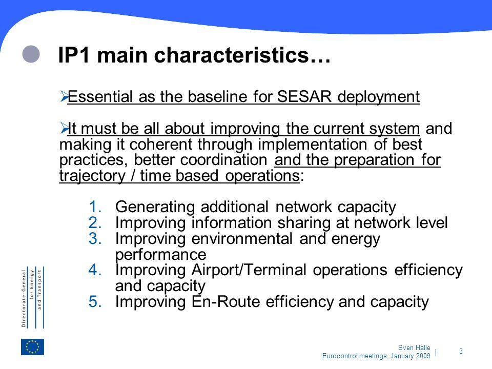 IP1 main characteristics…
