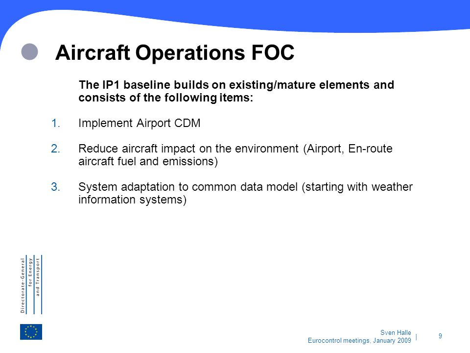 Aircraft Operations FOC
