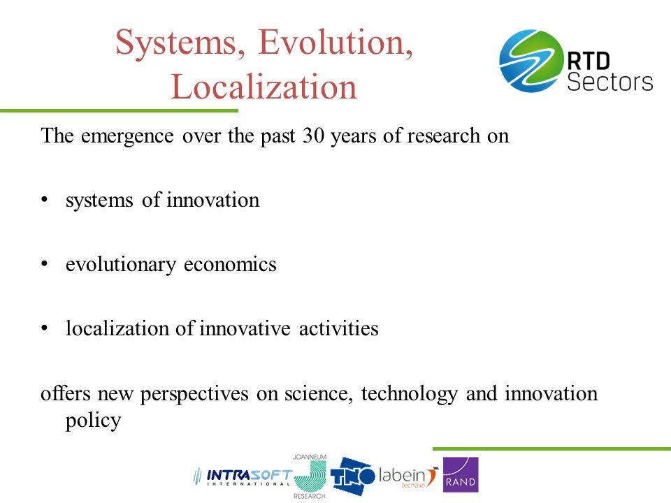 Systems, Evolution, Localization