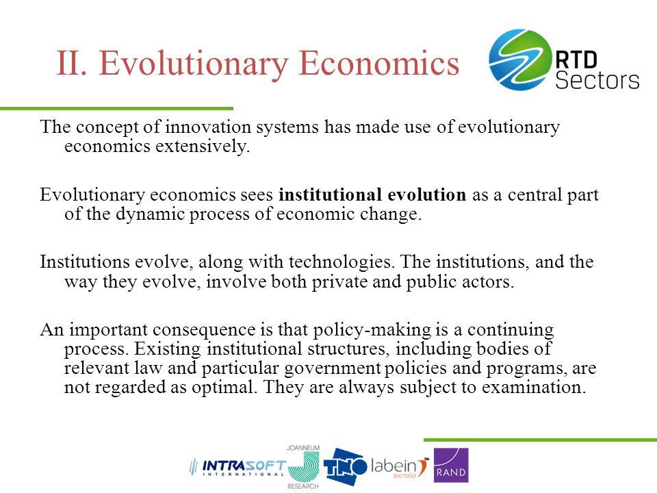 II. Evolutionary Economics