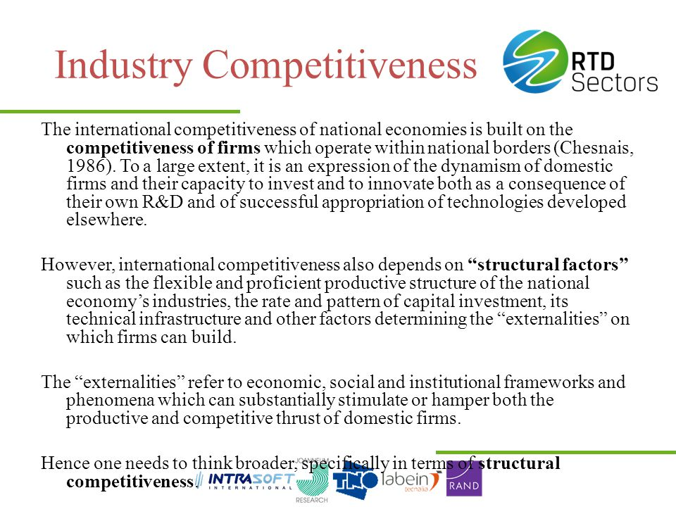 Industry Competitiveness