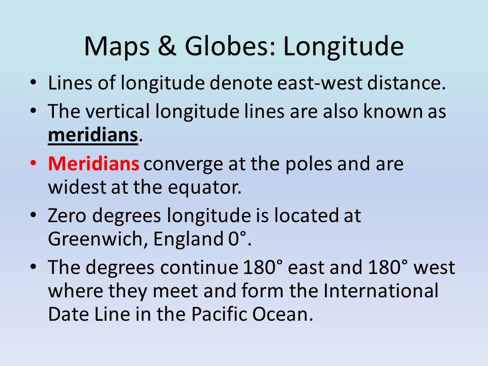 Maps & Globes: Longitude