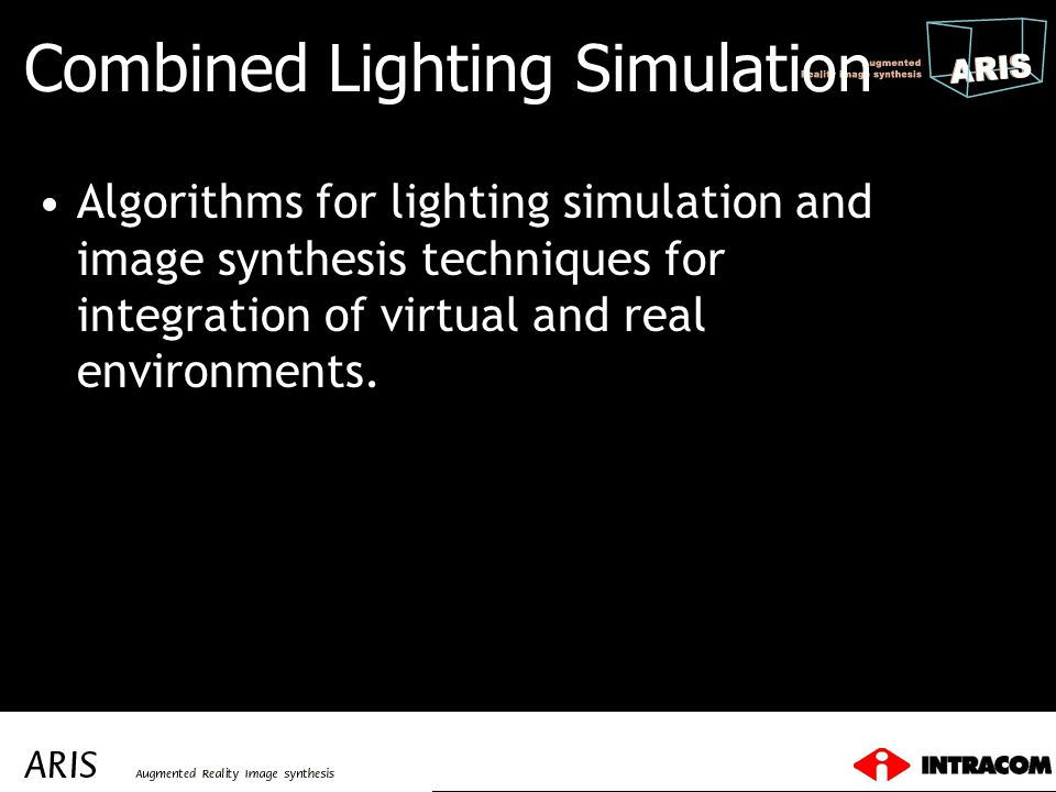 Combined Lighting Simulation