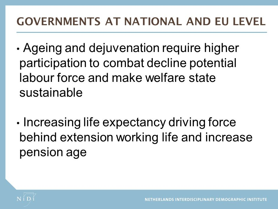 GOVERNMENTS at national and eu level