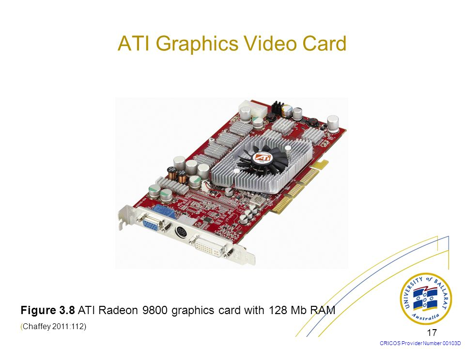 ATI Graphics Video Card
