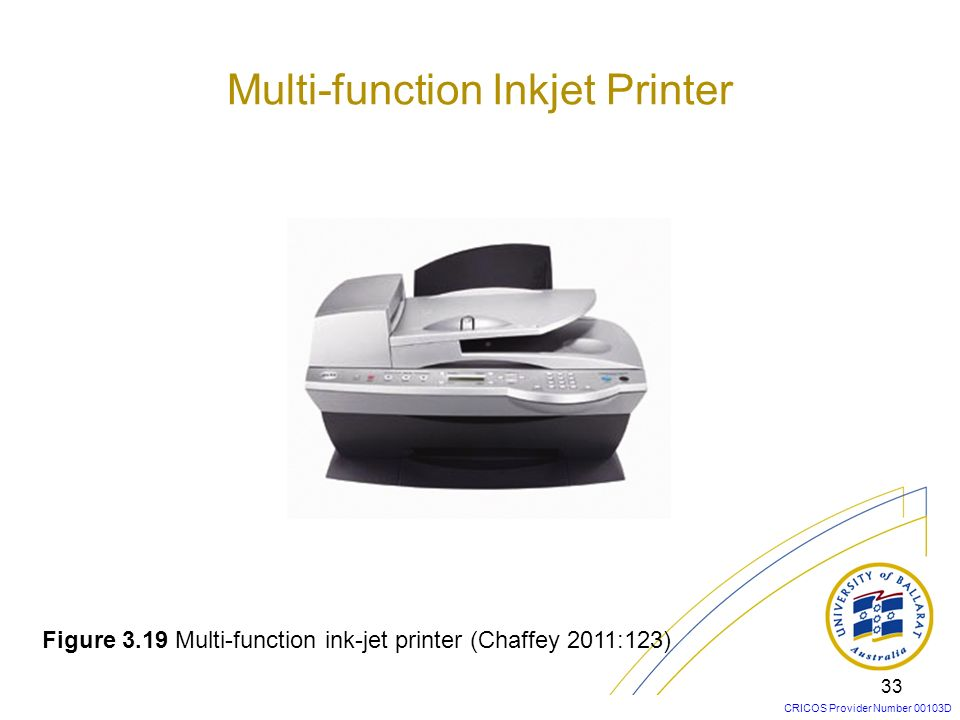Multi-function Inkjet Printer